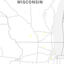 Hail Map for madison-wi 2019-06-28