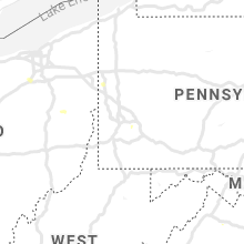 Hail Map for pittsburgh-pa 2019-06-28