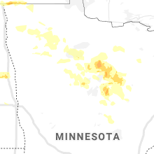 Regional Hail Map for Bemidji, MN - Saturday, June 29, 2019
