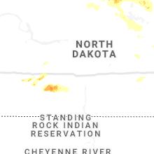 Regional Hail Map for Bismarck, ND - Saturday, June 29, 2019