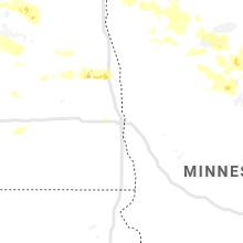 Regional Hail Map for Fargo, ND - Saturday, June 29, 2019
