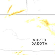 Regional Hail Map for Minot, ND - Saturday, June 29, 2019
