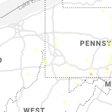 Regional Hail Map for Pittsburgh, PA - Saturday, June 29, 2019