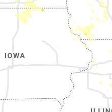 Regional Hail Map for Cedar Rapids, IA - Sunday, June 30, 2019