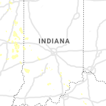 Regional Hail Map for Indianapolis, IN - Sunday, June 30, 2019