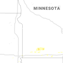 Regional Hail Map for Montevideo, MN - Monday, July 1, 2019