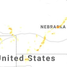 Hail Map for north-platte-ne 2019-07-01
