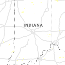 Regional Hail Map for Indianapolis, IN - Tuesday, July 2, 2019