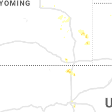 Regional Hail Map for Laramie, WY - Tuesday, July 2, 2019