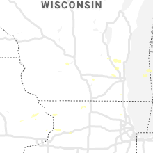 Hail Map for madison-wi 2019-07-02