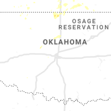 Regional Hail Map for Oklahoma City, OK - Tuesday, July 2, 2019
