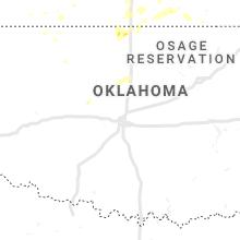 Regional Hail Map for Oklahoma City, OK - Tuesday, July 2, 2019