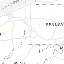 Hail Map for pittsburgh-pa 2019-07-02