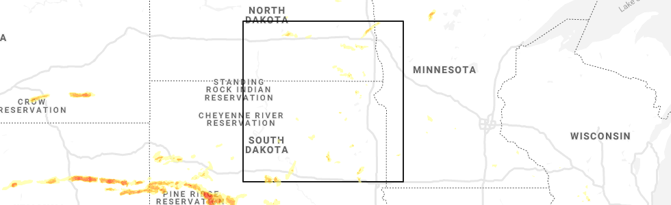 Interactive Hail Maps - Hail Map for Cogswell, ND on map of arnegard north dakota, map of valley city north dakota, map of fort yates north dakota, map of new town north dakota, map of medora north dakota, map of finley north dakota, map of gwinner north dakota, map of belfield north dakota, map of bowman north dakota, map of mandan north dakota,
