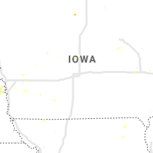 Regional Hail Map for Des Moines, IA - Wednesday, July 3, 2019