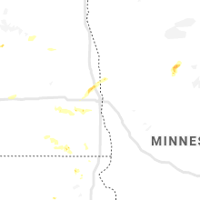 Regional Hail Map for Fargo, ND - Wednesday, July 3, 2019