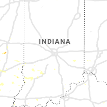 Regional Hail Map for Indianapolis, IN - Wednesday, July 3, 2019