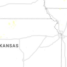 Regional Hail Map for Manhattan, KS - Wednesday, July 3, 2019