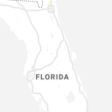 Regional Hail Map for Orlando, FL - Wednesday, July 3, 2019
