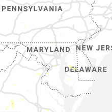 Regional Hail Map for Baltimore, MD - Thursday, July 4, 2019