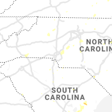 Hail Map for charlotte-nc 2019-07-04