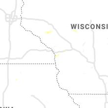 Hail Map for la-crosse-wi 2019-07-04