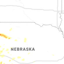 Regional Hail Map for Oneill, NE - Thursday, July 4, 2019