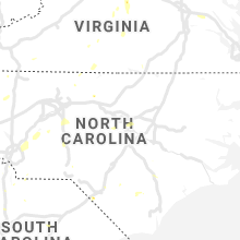 Regional Hail Map for Raleigh, NC - Thursday, July 4, 2019