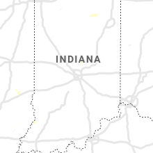 Regional Hail Map for Indianapolis, IN - Friday, July 5, 2019