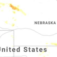 Hail Map for north-platte-ne 2019-07-05