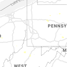 Regional Hail Map for Pittsburgh, PA - Saturday, July 6, 2019