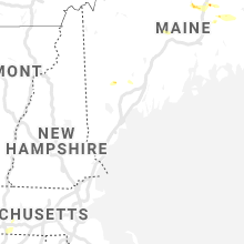 Regional Hail Map for Portland, ME - Saturday, July 6, 2019