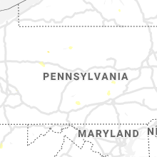Regional Hail Map for State College, PA - Saturday, July 6, 2019