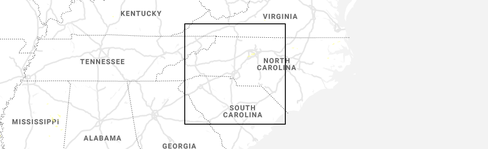 Hail Map for Charlotte, NC - Sunday, July 7, 2019