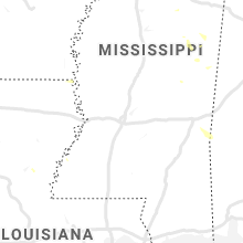 Regional Hail Map for Jackson, MS - Sunday, July 7, 2019