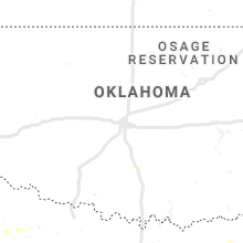 Regional Hail Map for Oklahoma City, OK - Sunday, July 7, 2019