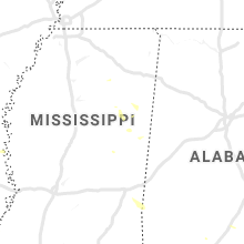 Regional Hail Map for Starkville, MS - Sunday, July 7, 2019