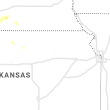 Regional Hail Map for Manhattan, KS - Monday, July 8, 2019