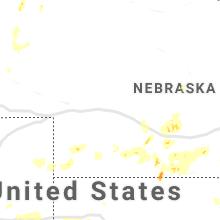 Hail Map for north-platte-ne 2019-07-08
