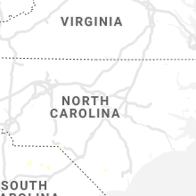 Regional Hail Map for Raleigh, NC - Monday, July 8, 2019
