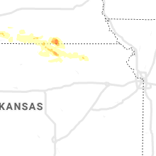 Regional Hail Map for Manhattan, KS - Tuesday, July 9, 2019