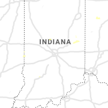 Regional Hail Map for Indianapolis, IN - Wednesday, July 10, 2019