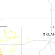 Regional Hail Map for Woodward, OK - Wednesday, July 10, 2019