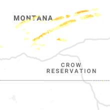 Regional Hail Map for Billings, MT - Thursday, July 11, 2019