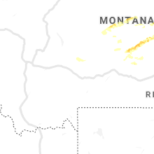 Regional Hail Map for Bozeman, MT - Thursday, July 11, 2019
