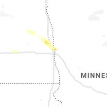 Regional Hail Map for Fargo, ND - Thursday, July 11, 2019