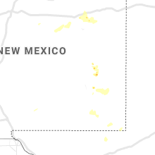 Regional Hail Map for Roswell, NM - Thursday, July 11, 2019