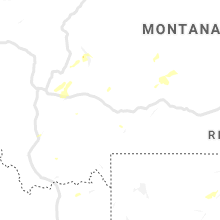 Regional Hail Map for Bozeman, MT - Friday, July 12, 2019
