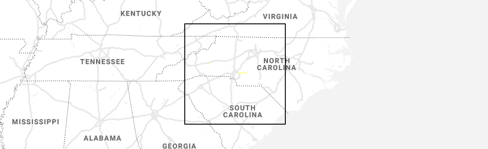 Interactive Hail Maps - Hail Map for West Marion, NC