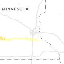 Regional Hail Map for Minneapolis, MN - Friday, July 12, 2019